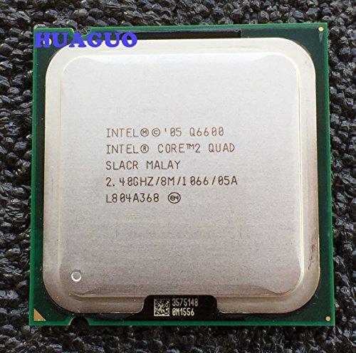 Intel Core 2Quad Q66002,4GHz Quad-Core CPU Prozessor slacr LGA 7758m Cache
