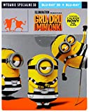 Despicable Me 3 Steelbook [Blu-Ray]+[Blu-Ray 3D] [Region Free] (English audio. English subtitles)