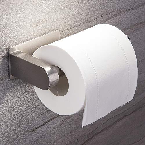 Toilettenpapierhalter, Ruicer Klopapierhalter Ohne Bohren Klorollenhalter Selbstklebend WC Rollenhalter Edelstahl für Badezimmer