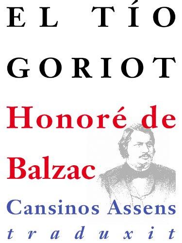 El tío Goriot por Honoré de Balzac