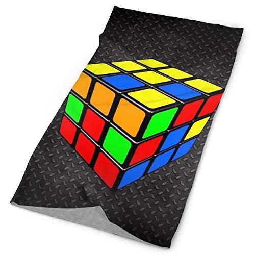 Preisvergleich Produktbild Pillowcase Wholesale Rubik's Cube 100% Cotton Headband Wrap Scarf Wristband Face Mask Bandanas for Dust Outdoors Festivals Sports