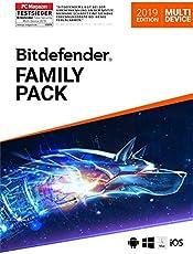 Bitdefender Family Pack 2019 - Inkl. VPN - 3 Jahre / Unlimitiert für PC