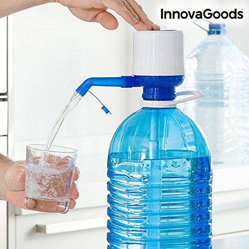 InnovaGoods Wasserspender für Kanister, Polypropylen, Weiß/Blau, 16.5x 8x 18cm