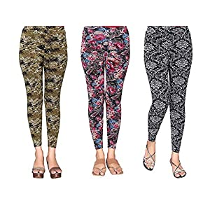 1 Stop Fashion Women's Leggings (Pack of 3)