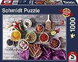 Schmidt Puzzle Composizione di Spezie 1000 Pezzi, 58294