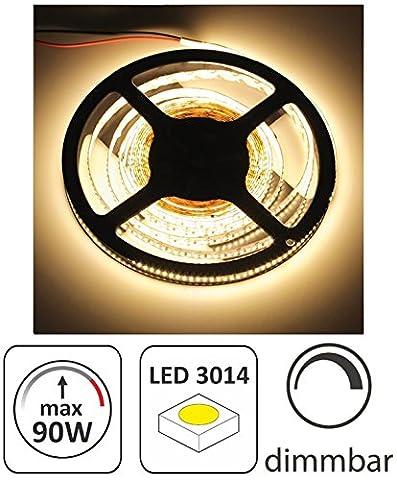 (11,98 €/m) 5m LED Stripe 12V dimmbar - 90W 12000lm
