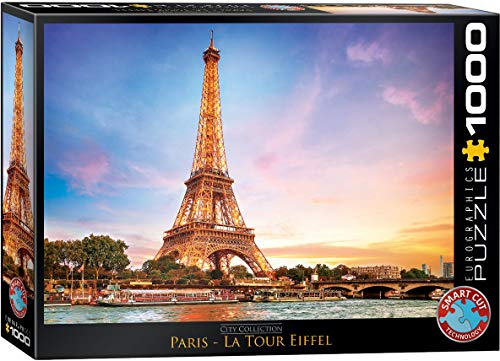 Eurographics 6000-0765Paris Eiffelturm Puzzle (1000Teile)
