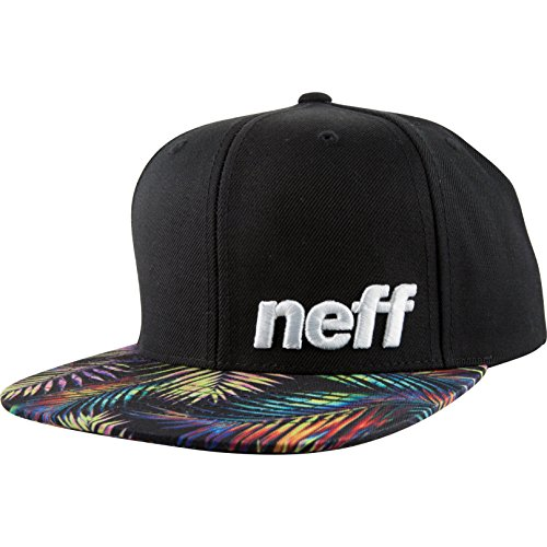 Neff Daily Pattern Cap Lime/Black Einheitsgröße Black Palms