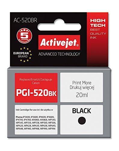 Preisvergleich Produktbild Active Jet ACR-520BK Tintenpatrone