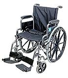 Aidapt selbstfahrend Stahl Transit Stuhl–gehämmerter (gültig für MwSt. Relief in Großbritannien)