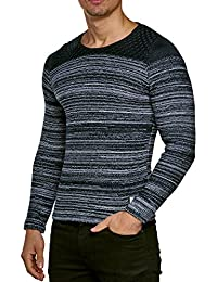 Pullover Men's Knit Jumper Winter Knit Cardigan Carisma CRSM Long sleeve Clubwear Long Sleeve Shirt Sweatshirt Shirt jumper Kosmo Japan Style Fit Look