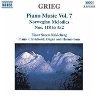 Grieg: Norwegian Melodies Nos. 118 - 152