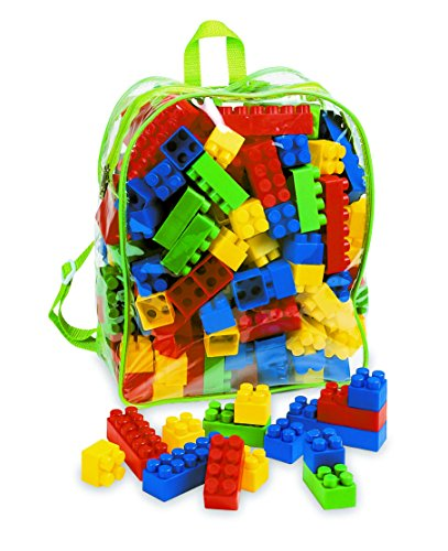 Adriatic 32 cm Home Toys Rucksack with Bricks
