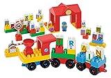 Ecoiffier Abrick Alphabet Train, Multi C...