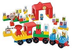 Ecoiffier Abrick Alphabet Train, Multi Color