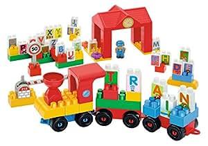 Ecoiffier - 3097 - Jeu de Construction - Train des Lettres Abrick