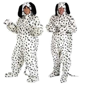 Costume Dalmatien - déguisement pour adultes 183 cm