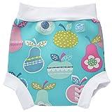 Splash About Kids' Reusable Swim Happy Nappy - Tutti Frutti, Medium (3 - 8 Months)