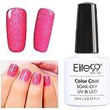 Elite99 10ML Soak Off UV LED Gel Nail Polish Bling Neon Colour Nail Art Manicure