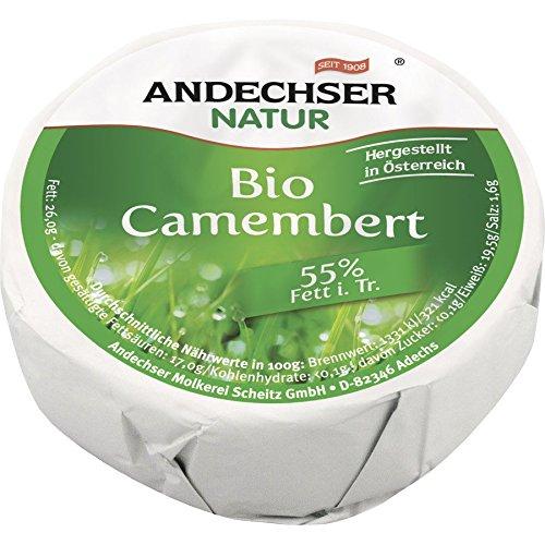 Andechser Natur Bio Bio Camembert 55% (6 x 100 gr)