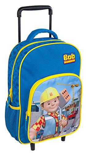 Undercover BODB7293 Kindergartentasche, Bob der Baumeister, ca. 21 x 22 x 8 cm Trolley