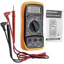 JZK XL830L multímetro digital , retroiluminación LCD , instrumento medición corriente, voltímetro AC / DC, Amperímetro DC, ohmímetro, diodos, triodo, fusible reajustable