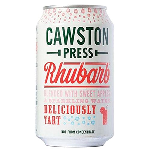 Cawston Press | Apple & Rhubarb In Cans | 24 x 330ML