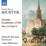 Richter, F.X - Grandes Symphonies (1744) Nos. 1-6 (Set 1)