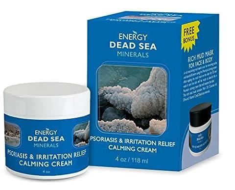 Zoae Salbe gegen Schuppenflechte & Dermatitis | Psoriasis Creme | Totes Meer Salz Mineralien Salbe zur Behandlung von Ekzemen bei Rosacea Dermatitis – Spezielle Mischung aus Mineralien, Kräutern & Vitaminen – für schnelle Hilfe bei juckender und gereizter Haut