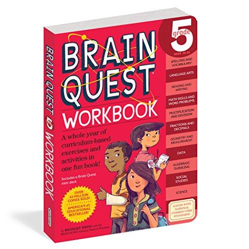 Brain Quest Workbook: Grade 5 (Brain Quest Workbooks)