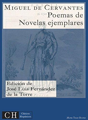 Poesías, II: En las Novelas ejemplares (Clásicos Hispánicos nº 35) por Miguel de Cervantes