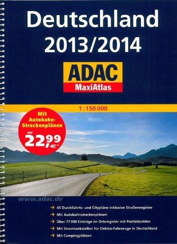 Allemagne Maxi Atlas 2013/2014