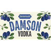 Etichette Damson Vodka di Nutley (confezione da 12)