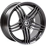 Tomason TN5 8,5x18 LK 5x108 Gunmetal rim polished Ford,Volvo,Jaguar,Peugeot