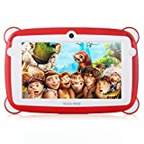 Great Wall K701 Tablet per Bambini da 7 pollici con Custodia in Silicone Stander GMS Certificato Android 7.0 Quad Core RAM da 1 GB + 8 GB ROM WIFI