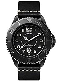 Ice-Watch Herren-Armbanduhr Analog Quarz Leder HE.BK.BM.B.L.14