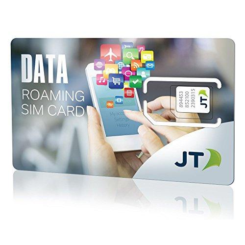 Telestial Internacional Prepago SIM de datos para más de 110 países con 200 MB de crédito