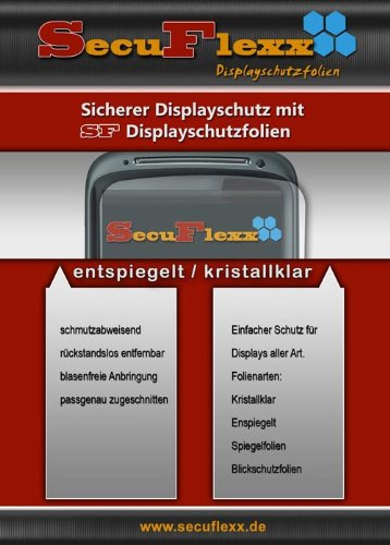 4x ANTIREFLEX Display Schutz Folie entspiegelt passend für Alcatel One Touch OT-318D