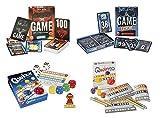Großes Spiele-Set mit Würfelspielen QWIXX und QWINTO, sowie den Kartenspielen THE GAME und THE GAME EXTREME als Spiele-Vorteilspack