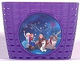Disney Frozen die Eiskönigin Kinder Fahrradtasche Lenkertasche Fahrrad Korb VOLARE lila