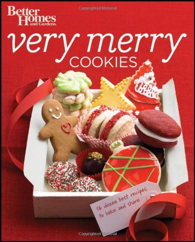 Better Homes and Gardens Very Merry Cookies (Better Homes and Gardens Cooking) by Better Homes and Gardens (2011-09-09) (Gardens Cookies And Better Homes)