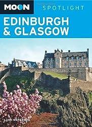 Moon Spotlight Edinburgh & Glasgow by Luke Waterson (2009-11-03)