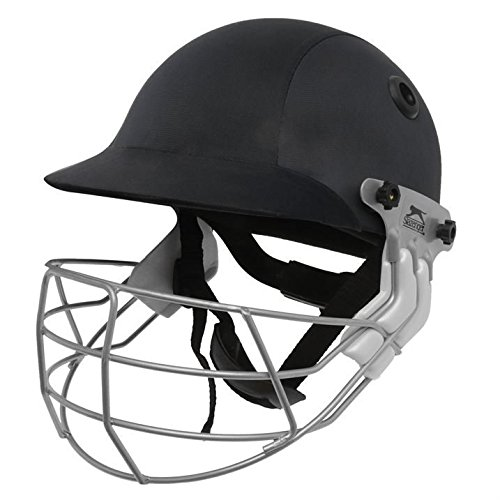 slazenger-international-cricket-helmet-adults-protector-sports-accessories-navy-junior