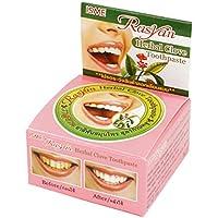 LUFA RASYAN Herbal Clavo pasta de dientes blanqueadora de limpieza Rmove Cálculo Cmoke manchas en los dientes Polvo Oral Care
