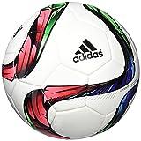 adidas FEF Competition - Balón, color blanco / negro / rojo / verde, talla 5