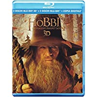 Hobbit : Un Viaggio Inaspettato, 3D (4 Blu-ray + Booklet);The Hobbit - An Unexpected Journey;The Hobbit: An unexpected journey
