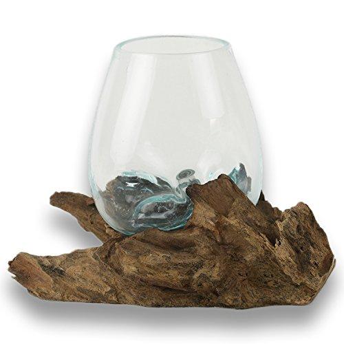 art-craft-handgemachte-glas-vase-auf-einem-wurzelholz-sie-erhalten-die-wurzel-die-hier-abgebildet-is