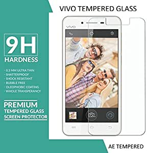 AE (TM) for VIVO Y11 Tempered Glass 2.5D Crystal Clear 9H Curve Edge Screen Scratch Protector Guard