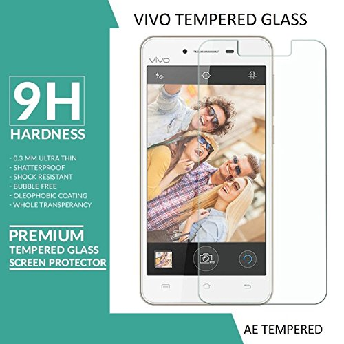 AE (TM) for VIVO Y51L Tempered Glass 2.5D Crystal Clear 9H Curve Edge Screen Scratch Protector Guard