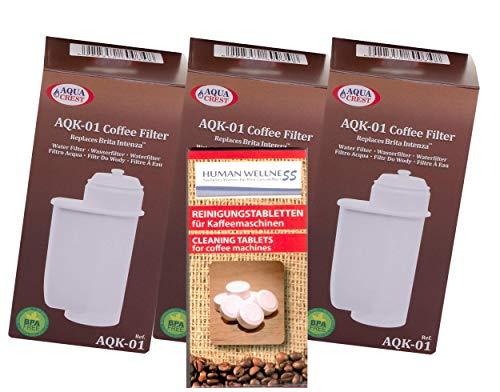 Human-Wellness EcoAqua 3x Filtro Agua Bosch VeroBar